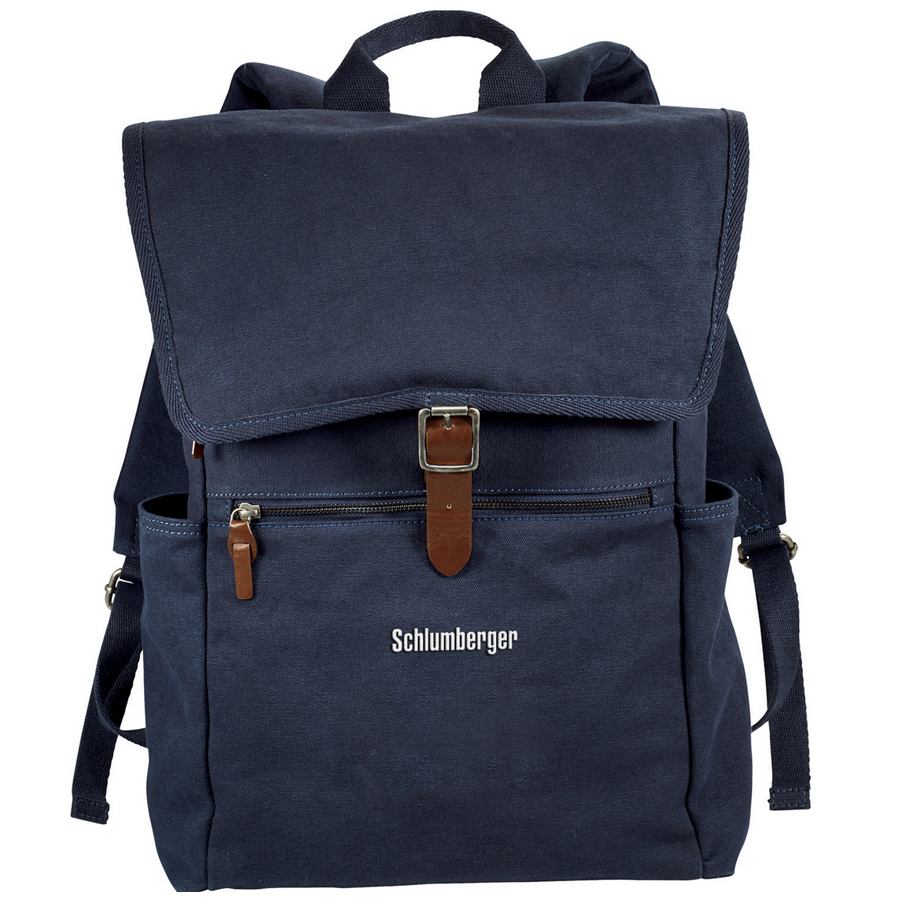 "Alternative® Mid 15"" Cotton Computer Backpack"