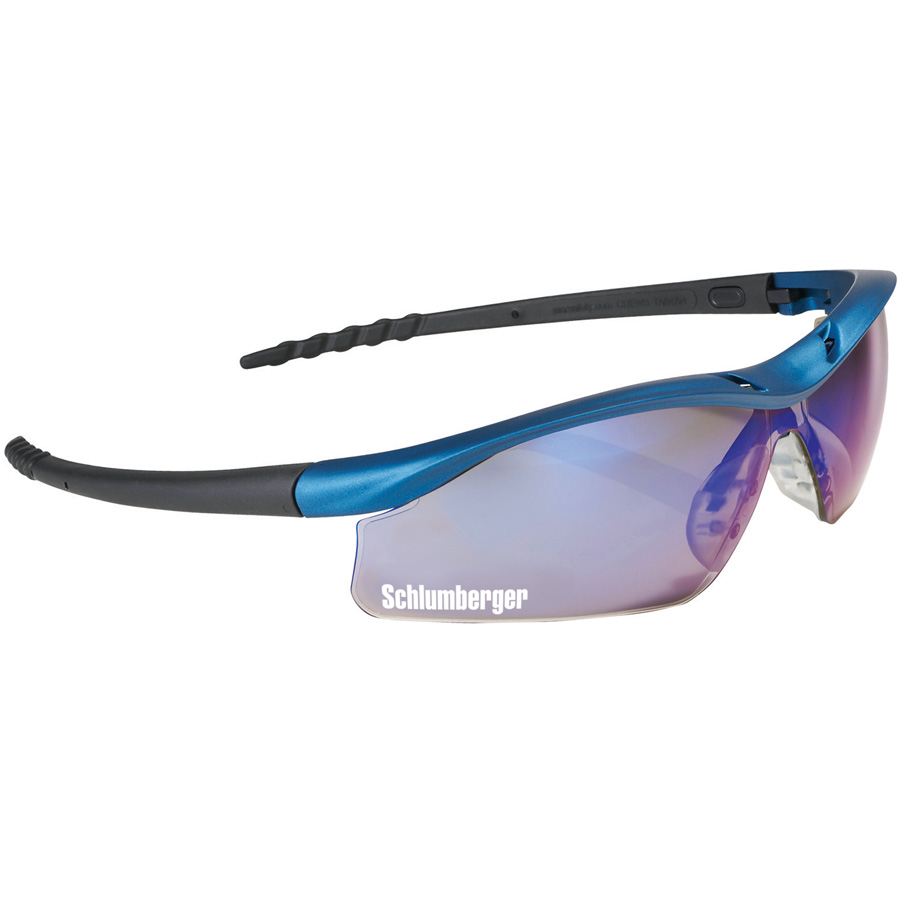 Safety Works DallasBlue® Mirrored Safety Glasses