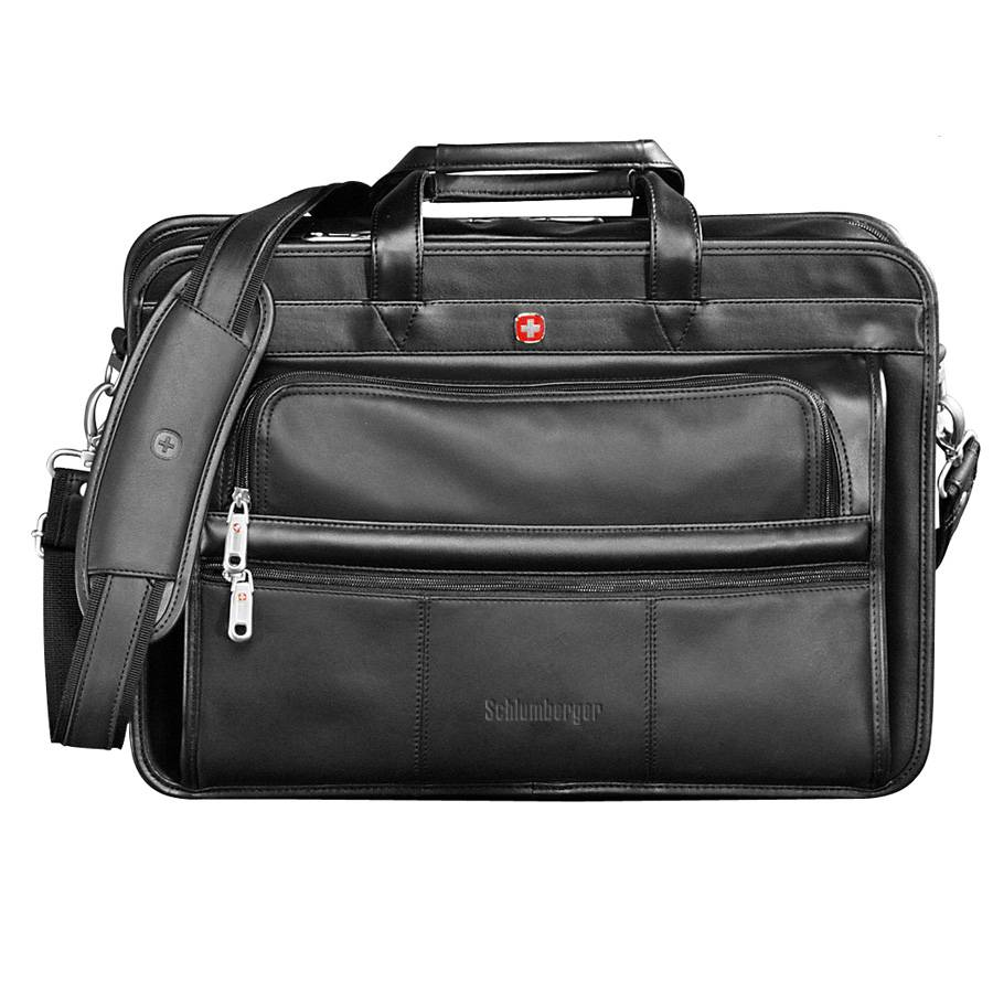Wenger® Swiss Army Leather Attache
