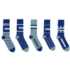 Woven Mid-Calf Sock (Made in China)
